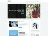 Deft – Free minimalist WordPress blogging theme