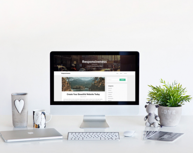 Responsiveness – free SEO optimized WordPress blogging theme for authors