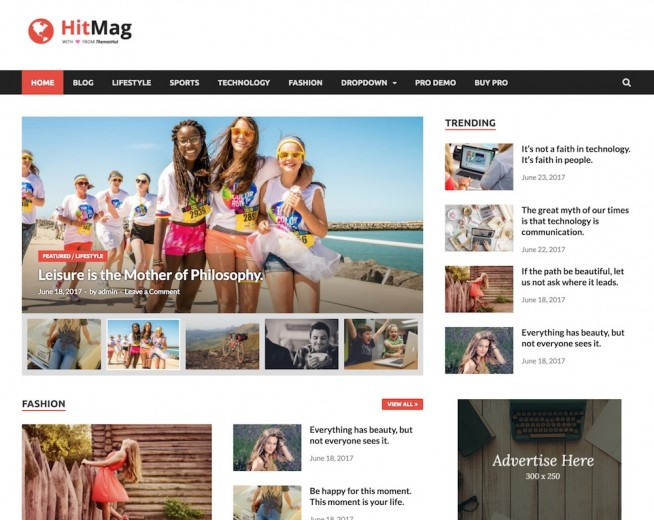 HitMag – Free Magazine WordPress theme