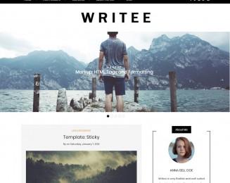 Writee – Free WordPress blog theme