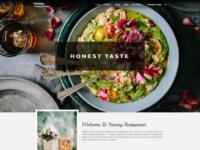YUMMY – Free restaurant and food WordPress theme