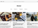 Zomer – Free clean and light WordPress News/blogging theme